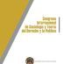 Congreso Internacional de Sociología y Teoría del Derecho y Política